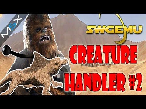 Star Wars Galaxies  -SWGEMU  -PreCU  -CreatureHandler   -Progress 2