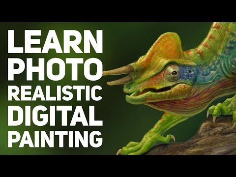 How to create photorealistic digital paintings