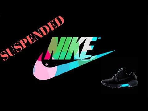 SUSPENDED OFF EBAY for selling Nike Shoes?