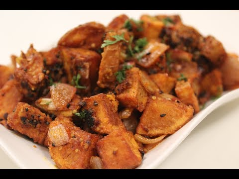 Kurkure Achari Aloo | Vegetarian Indian Recipes | Sanjeev Kapoor Khazana