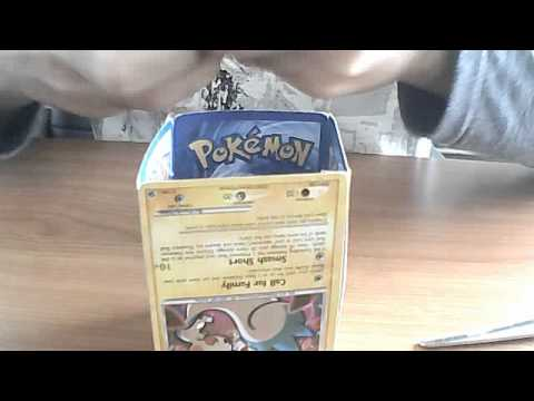 how to make a pokemon deck holder with just POKEMON CARDS!!!