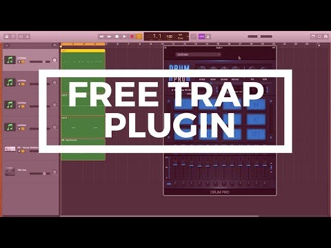 Free Plugin For Hip Hop/Trap Beats - Drum Pro (Garageband Tutorial)