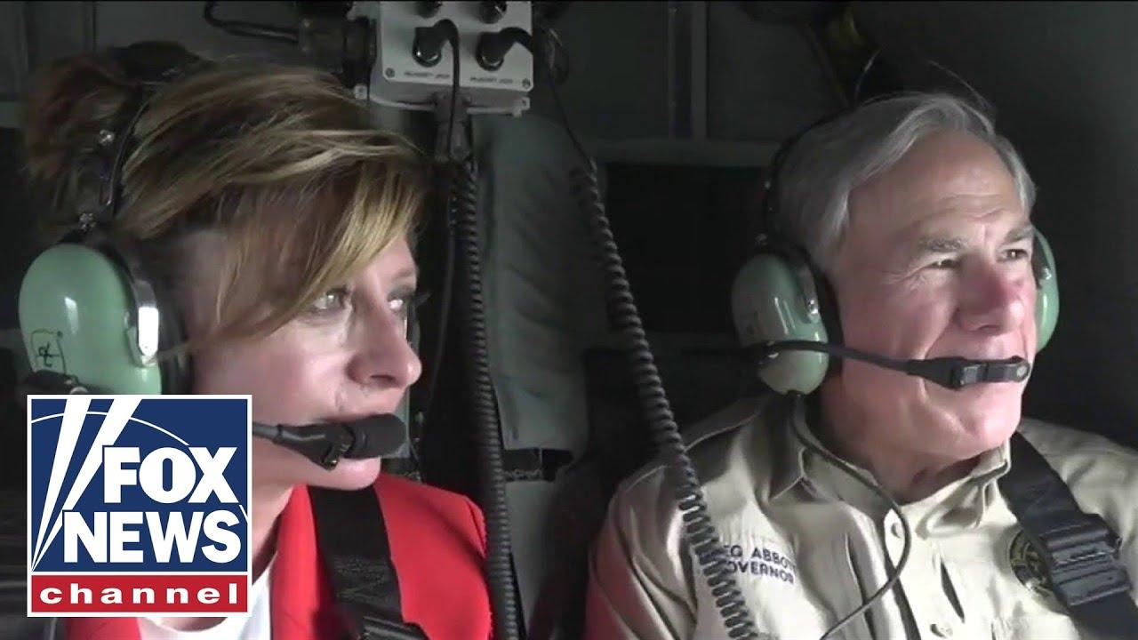 Exclusive: Maria Bartiromo tours southern border with Texas Gov. Abbott