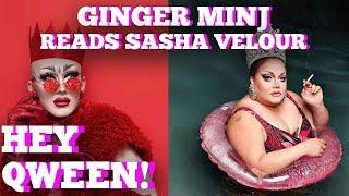 Ginger Minj Reads Sasha Velour  Hey Qween! Highlight