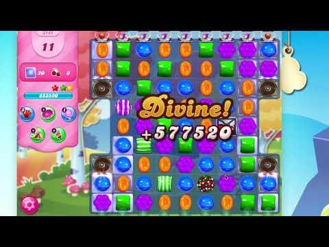 Candy Crush Saga Level 3145  No Booster