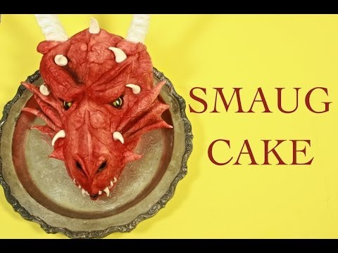 Smaug Cake (How-to) from Lord of the Rings