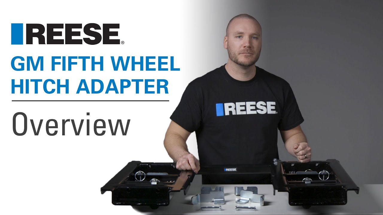 REESE® GM Fifth Wheel Hitch Adapter | Overview