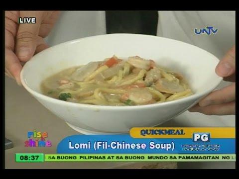 Lomi (Fil-Chinese soup)