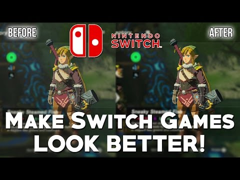 Nintendo Switch - How To Make Your Switch Games Look BETTER & More Colourful! (NO Washed Out Look)