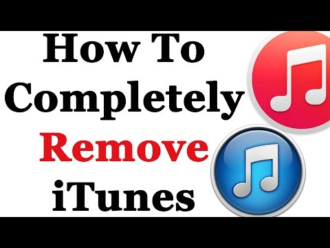 How To Completely Remove iTunes From Windows 7 & 8