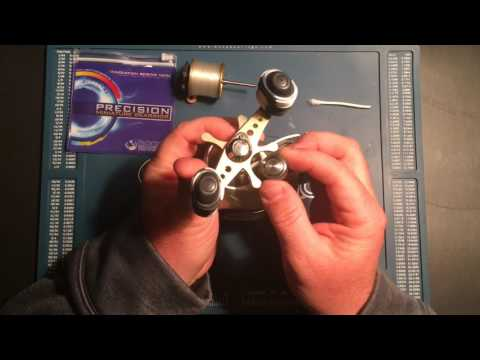 How to change the bearings in a Shimano Citica 200D