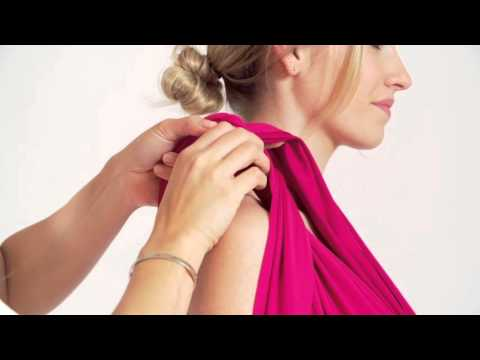 How to Style a MultiWay Dress: The Greek Goddess by Lavalia