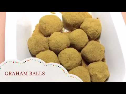 How to Make Graham Balls | Marshmallow Inside | PinoyTaste