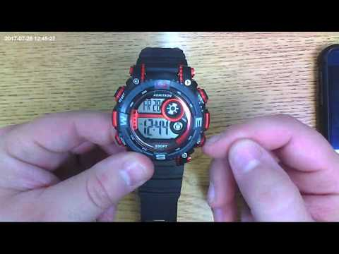 How to Setup the Armitron Pro Sport Watch
