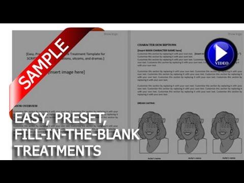 DIY TV Treatment samples
