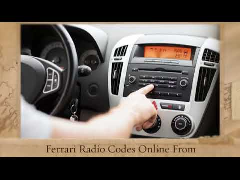 Ford Radio Code Free
