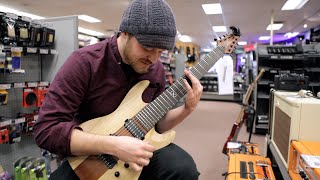 Download Seeing my signature guitar in my hometown Guitar Center Video