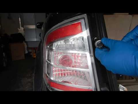 Changing rear turn signal bulbs in Ford Edge 2007-2010 and Lincoln MKX