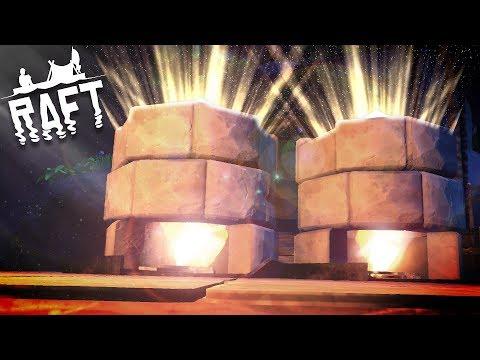 Raft - Turning Everything into Metal! - NEW Raft Upgrades & 100% Research! - Raft Gameplay