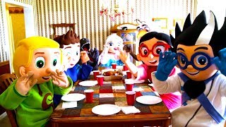 Download Paw Patrol - Marshall Cook Dinner In Real Life | Heroes & Villains | Ellie Sparkles Video
