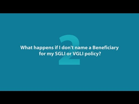 4 Questions About Designating a SGLI Insurance Program Beneficiary