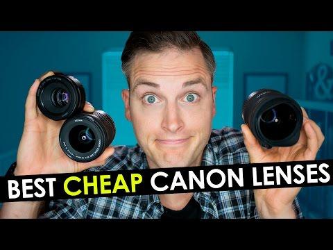 Best Canon Lens for Video — Top 3 Cheap Canon Lenses for YouTube