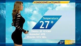 Mexican Weather Girl Yanet Garcia Breaks The Internet