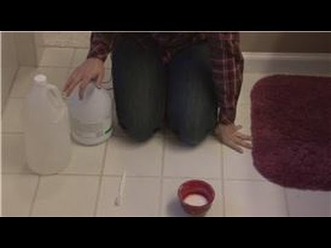 Housekeeping Tips : How to Remove Mildew From Grout