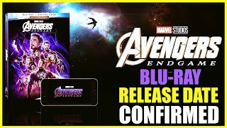 Download Avengers: Endgame Blu-ray Cover Confirmed Release Date Video