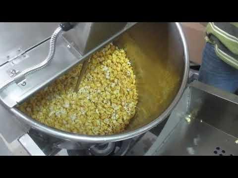 Commercial Pop Corn Machine Gas
