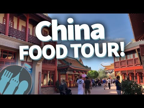 Disney World Food Tour: EVERY Food Location in Epcot's China!