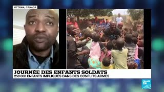 Journée internationale des enfants soldats : 250 000 enfants toujours concernés