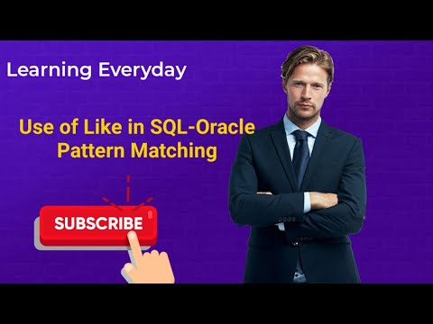 Pattern Matching in SQL Oracle | Use of like in SQL | Like in SQL | use of not like in sql