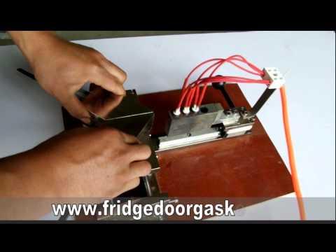portable manual fridge gasket welder