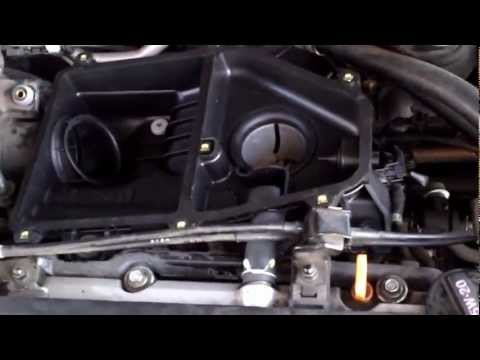 How to replace the air cleaner housing for a 2003 Honda civic LX