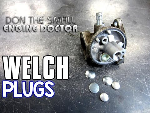 HOW-TO Replace Carburetor Welch Plugs