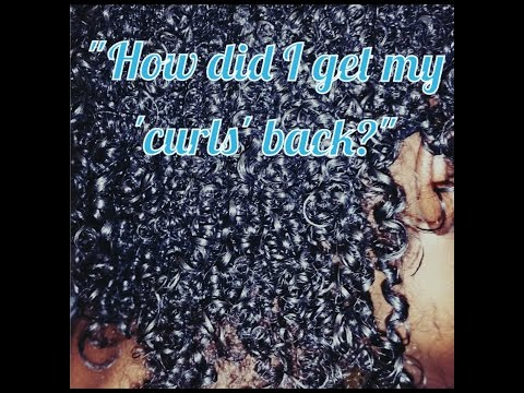 Heat Damage: How Did I Get My Curls Back?| Natural Hair Mini Chop