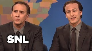 Weekend Update: Get in the Cage with Nicolas Cage and Nicolas Cage - SNL