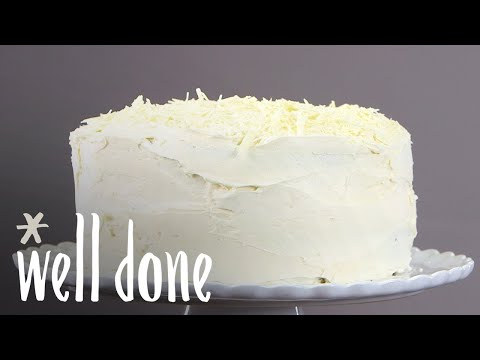 How To Make White Chocolate Buttercream | Recipe | Well Done