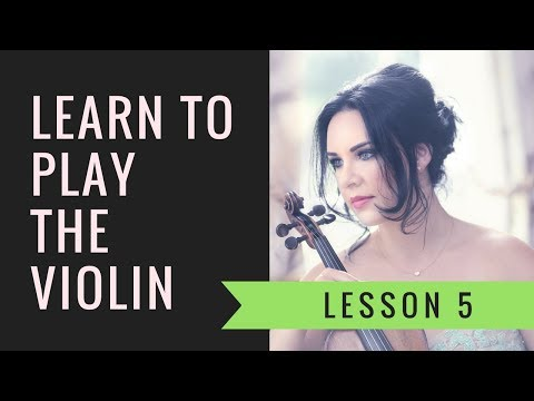 Learn the VIOLIN | EASY | Lesson 5/20 - Learning the open string notes