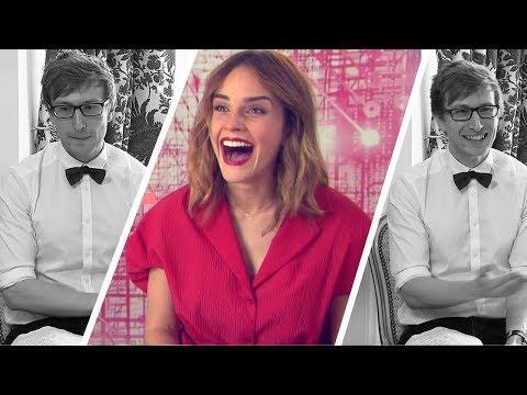 Emma Watson se moque de moi en interview (ça tourne bien)