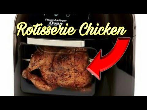 Rotisserie Chicken / Power Air Fryer Review