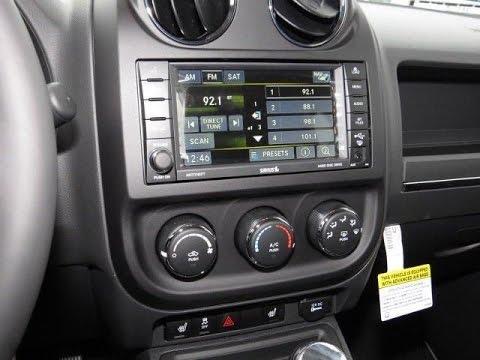 2011-2017 Jeep Compass & Patriot Factory GPS Navigation Radio Upgrade - Easy Plug & Play Install!