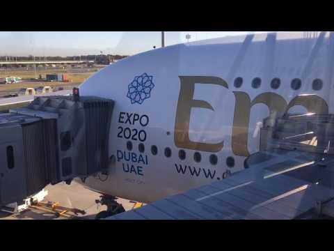 Flight Review: EK0434 - Dubai to Brisbane, Emirates Airbus A380 (Business Class): 28th August 2016.
