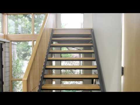 Custom Open Riser Stairs