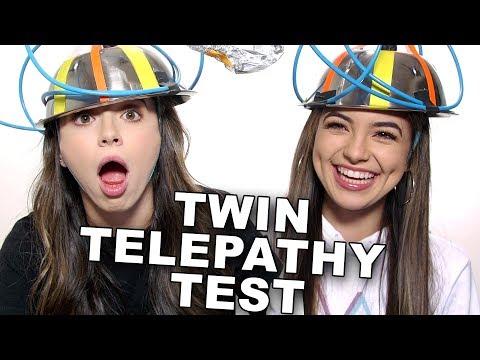 Twin Telepathy Test - Merrell Twins