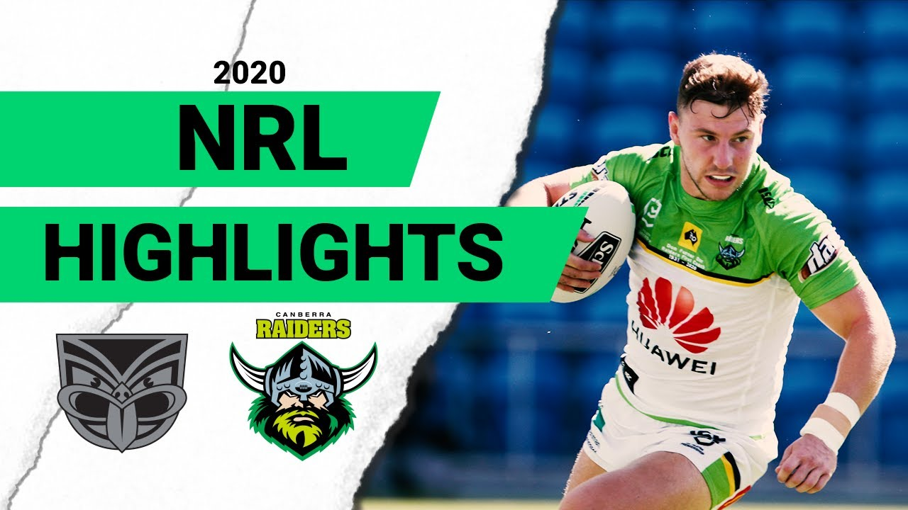 Warriors v Raiders Match Highlights | Round 2 NRL 2020 | National Rugby League