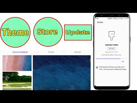 Android 7 Samsung Galaxy J5/J7/S7/S8/S9 : How To Update Galaxy Theme Store - Helping Mind
