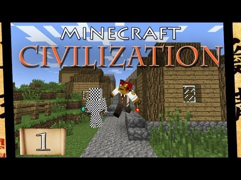 Minecraft Civilization- Episode 1: Aquaducts!