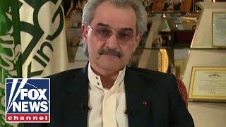 One-on-one with Prince Al-Waleed bin Talal